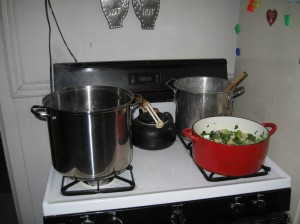 watercress soup in action